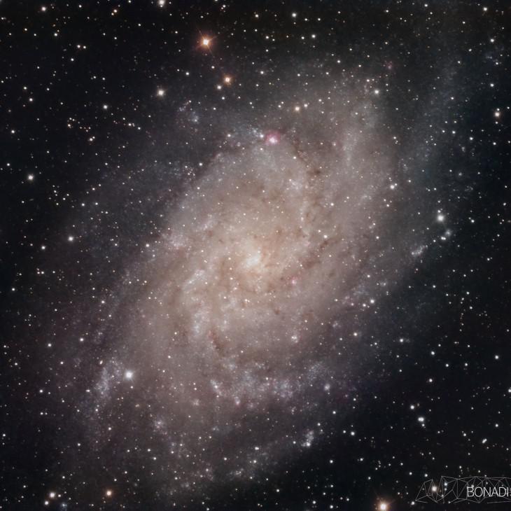 М33 Галактика треугольника